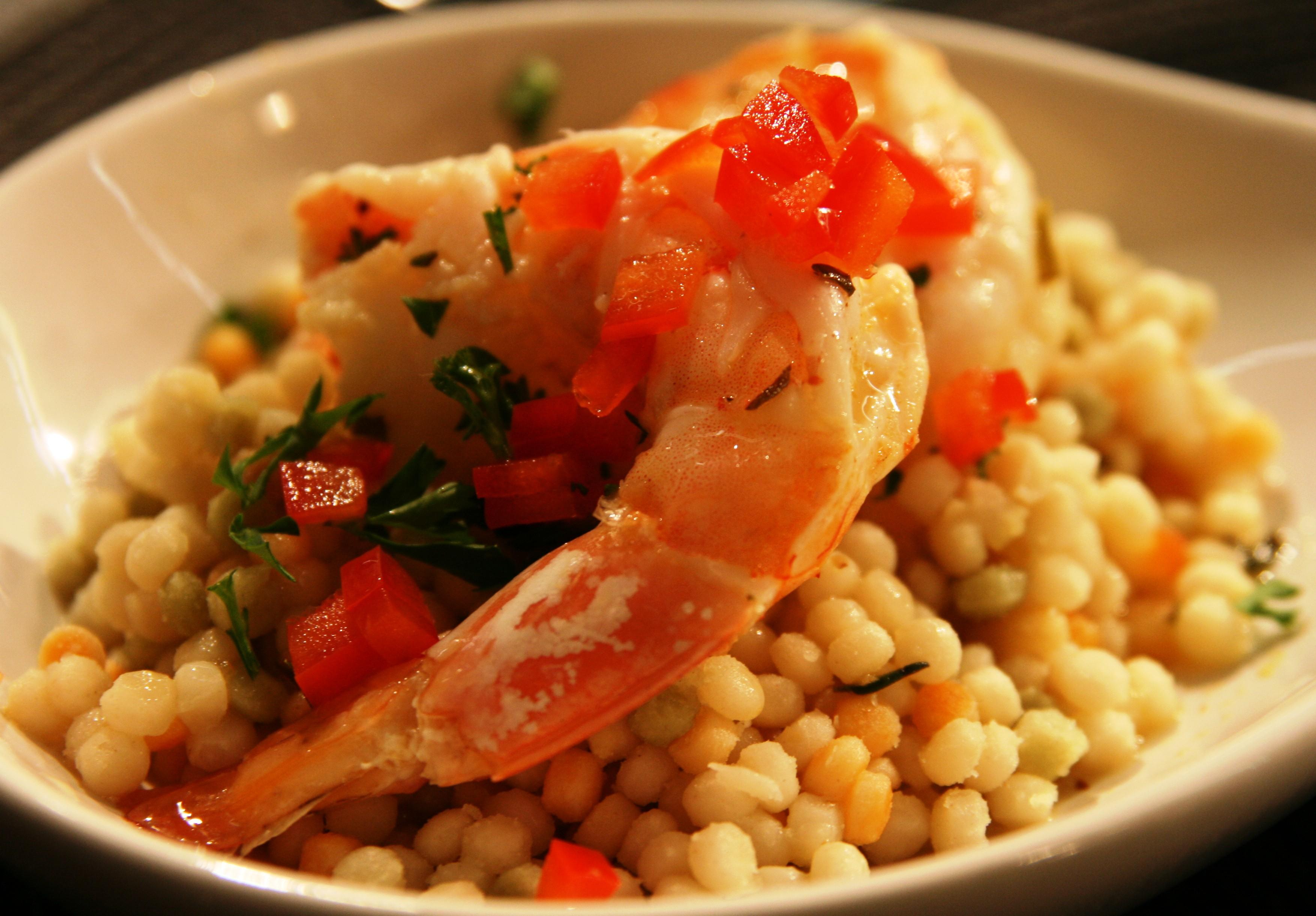 Chef Barb's Pittsburgh Shrimp: Spicy Citrus Poached Shrimp