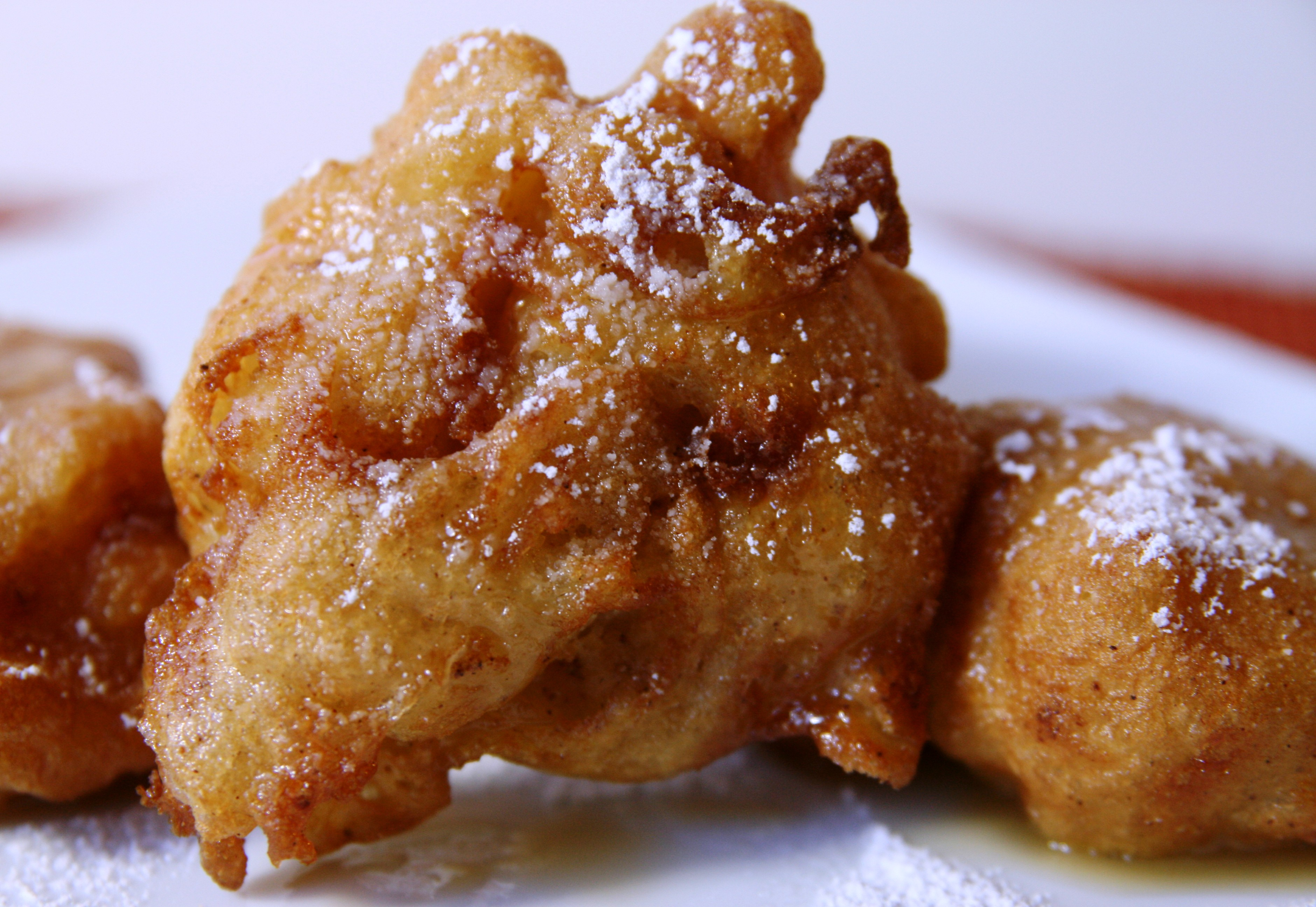 Portuguese Apple Fritters Recipe — Dishmaps