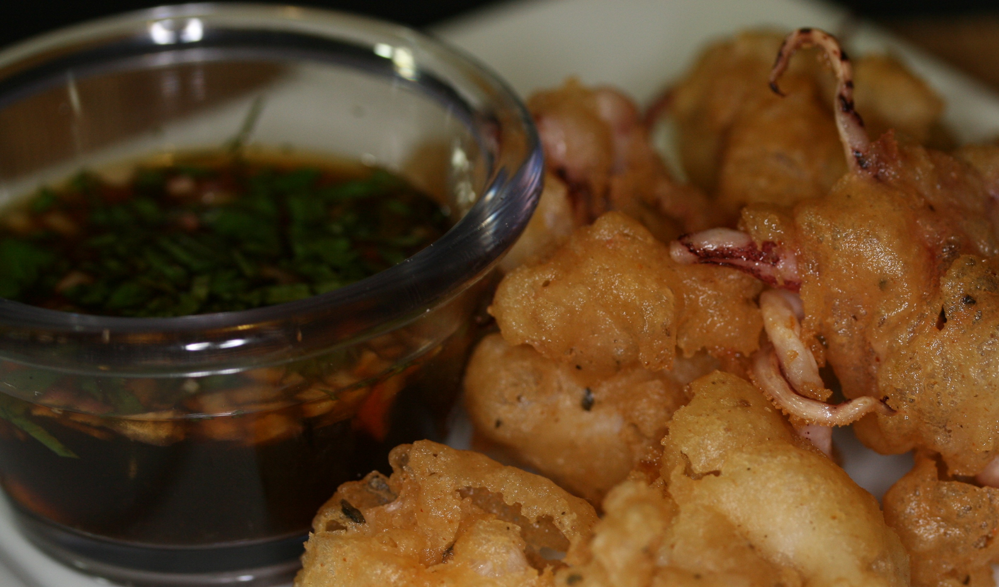 Tempura Squid | What's Cookin' with Dr. Mike: The Grassroots Gourmet
